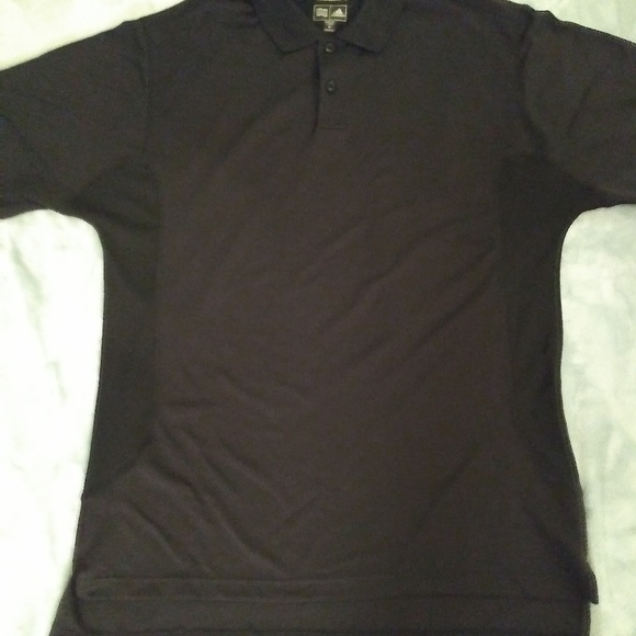 pre order detailed pictures new product Adidas Men's Black Climacool Polo Shirt